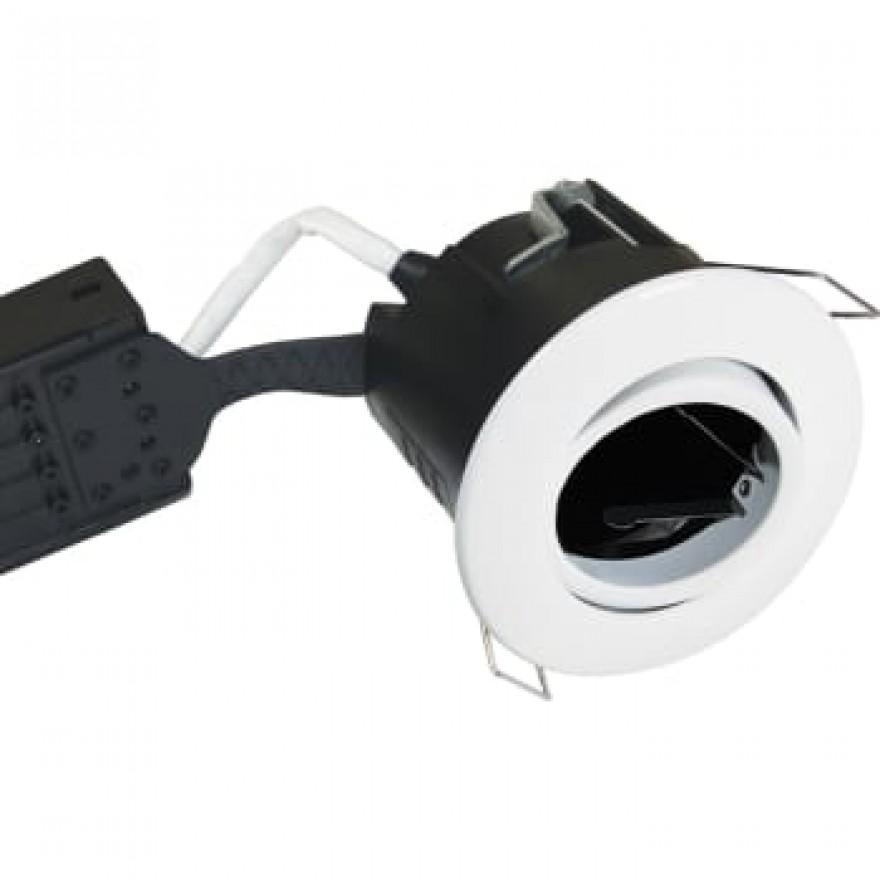 Downlight Uni Install GU10 rund, hvid