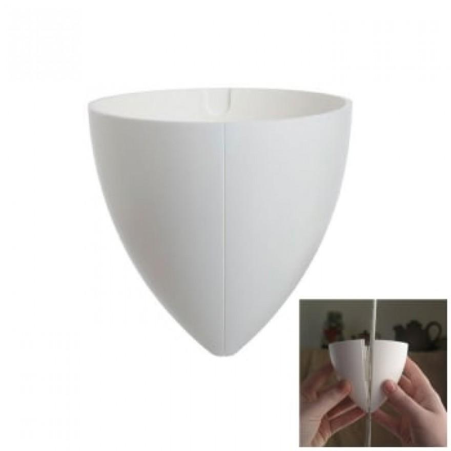 Baldakin 2-delt hvid