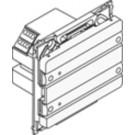 KNX Betjeningstryk OPUS 66 4 tryk + led, HVID