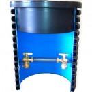 400 mm komplet målerbrønd med 40 mm ventilsæt
