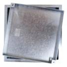 Jesmig 600 x 70 mm brønddæksel til integrerede fliser, 1,5 t