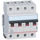 Automatsikring RX3 C 16A 4P (3P+N), 4M, 6kA