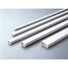 Kabelkanal 16 x 16 mm hvid med tape 2601