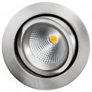 Downlight Gyro Isosafe LED 6W DTW børstet stål