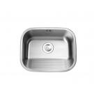 Intra Tempra bryggersvask t/væg m/prop, 55 cm