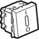 AFBRYDER 2P 20A M/LED 2M HVID
