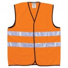 ADVAR.VEST KL.2 STR. XL ORANGE