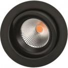 Downlight Junistar ECO Isosafe LED 5W 927 sort (pakke med 8 stk)