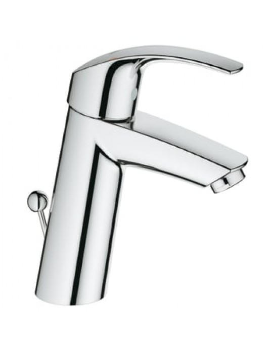 GROHE Eurosmart håndvaskarmatur med bundventil. M-size. Krom